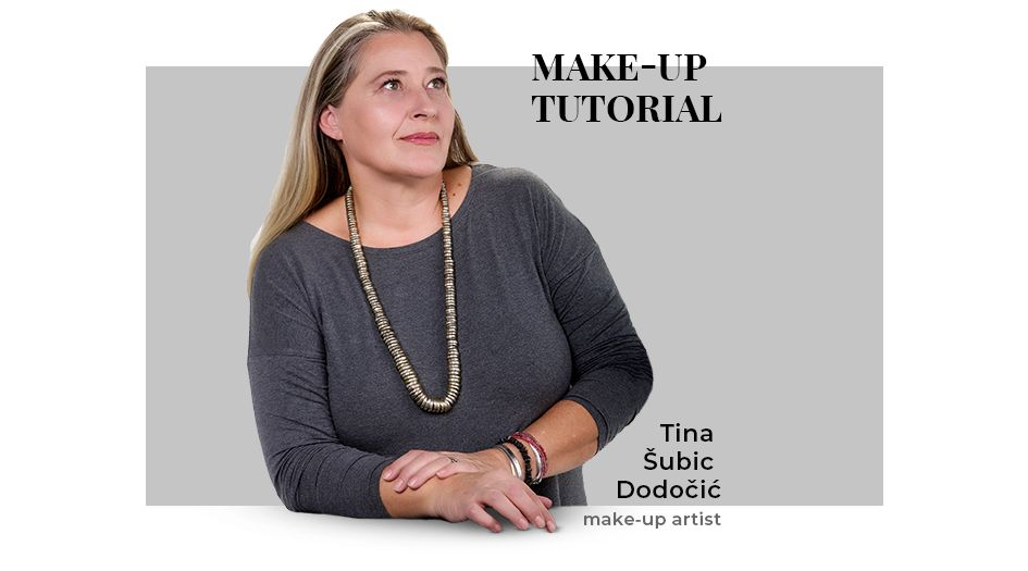 Tina Subic Dodocic make-up artist