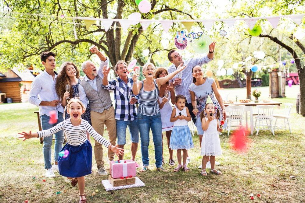 porodica na veselju