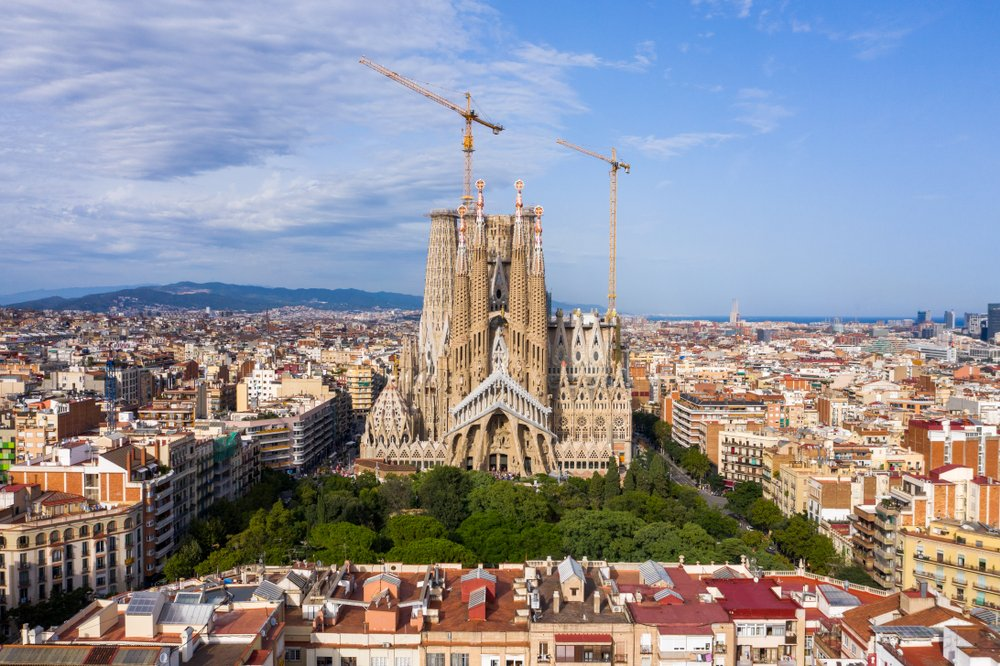 Katedrala Sagrada familija u Barseloni