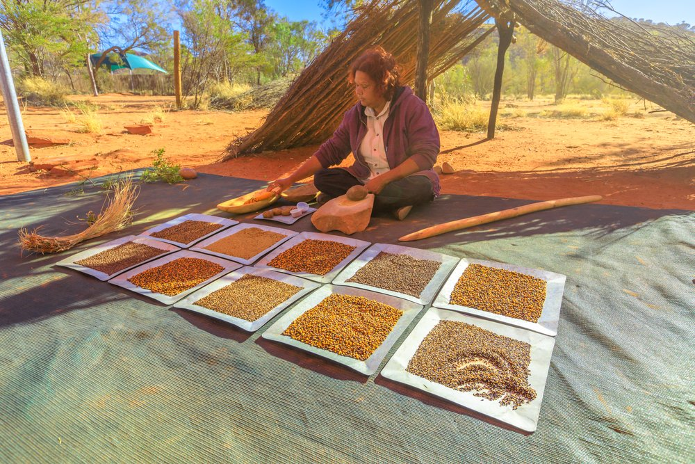 aboridzinska kuhinja i hrana