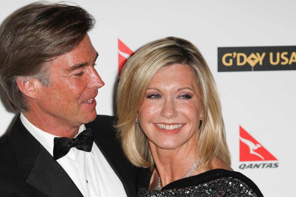 Olivija i sadašnji suprug Dzon Isterling