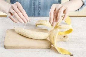 ruke ljuste koru banane