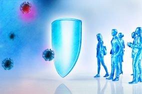 ilustracija imuniteta na covid-19