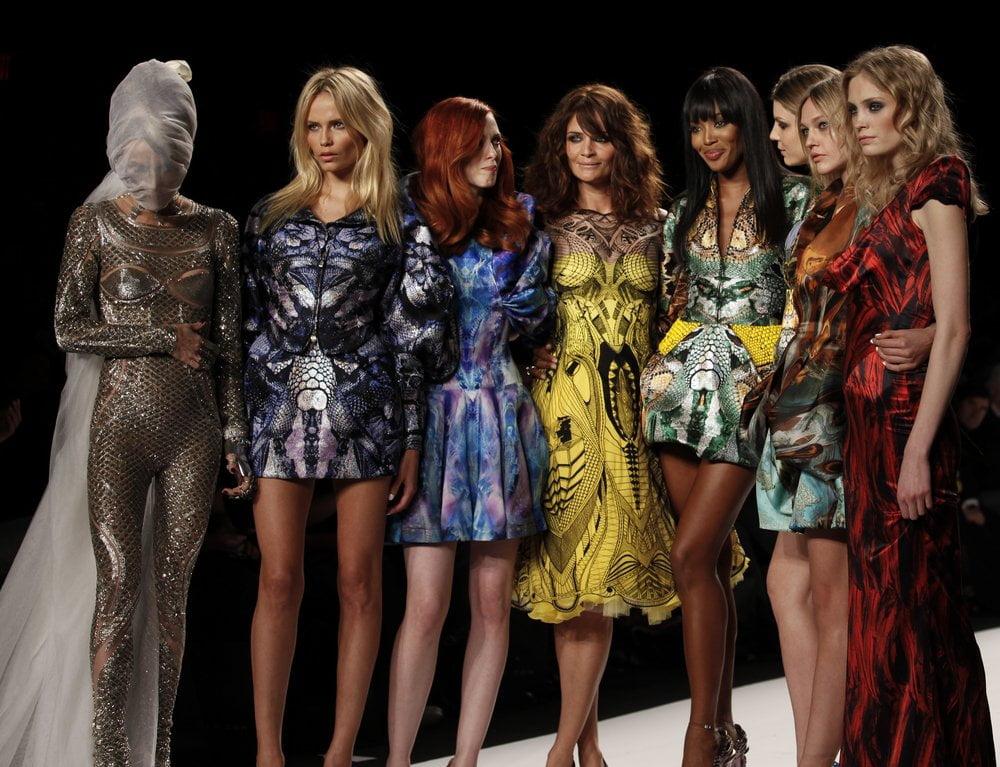 Alexander McQueen modna revija