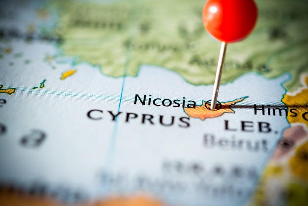 Mapa Nikozije