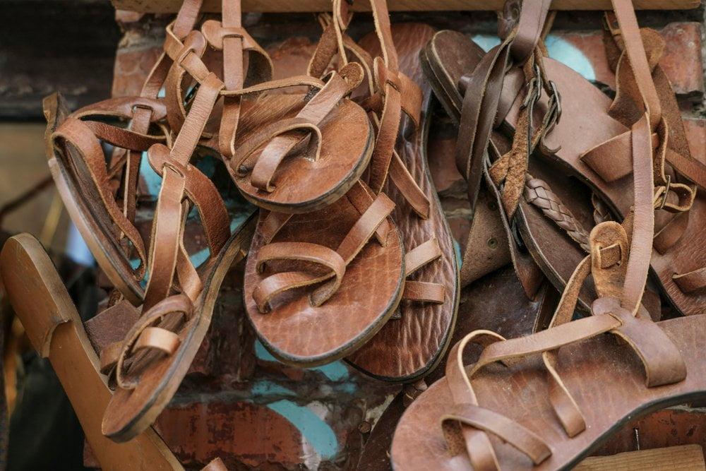 sandale gladijatorke