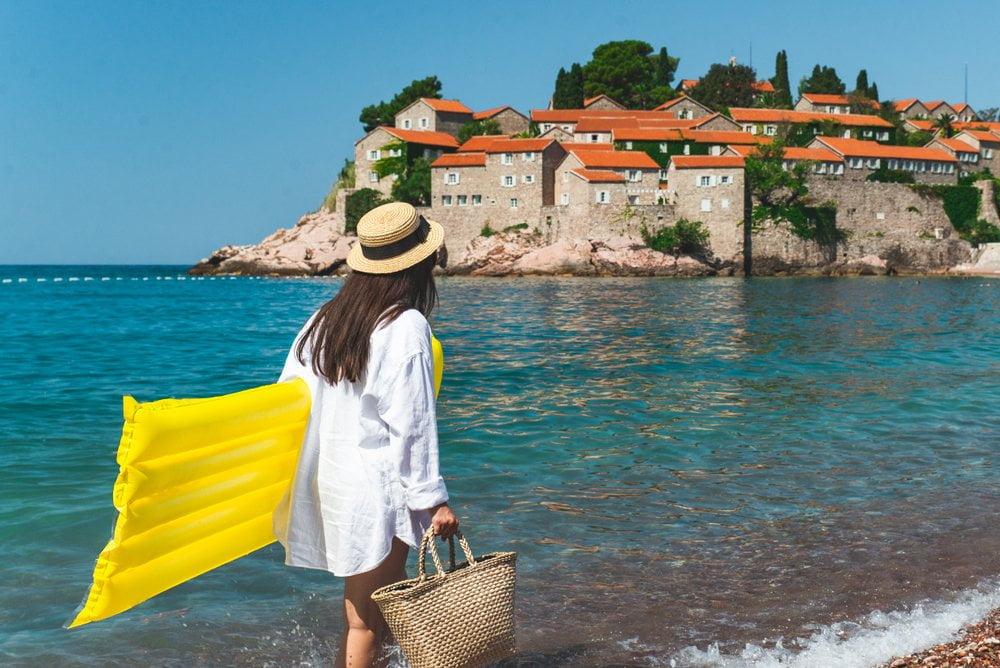 Glavna plaža Crna gora