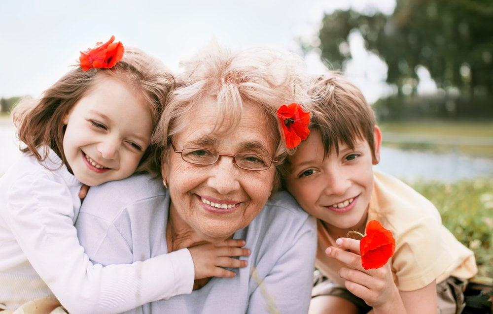Baka i unučići