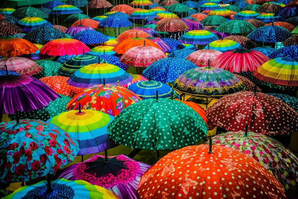 Šareni kišobrani